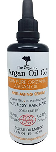 Olio di argan biologico Co, puro, 100 ml – 100%...