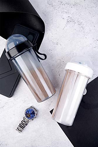 """FFM Store Sport Trinkflasche Lifestyle Für """"zwei Getränke"""". Wasserflasche Leicht für Sport, Fitness, Uni, Fahrrad, Camping, Outdoor, Yoga, Schule & Büro."""