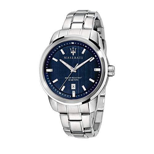 Maserati successo orologio Uomo Analogico Al quarzo con cinturino in Acciaio INOX R8853121004