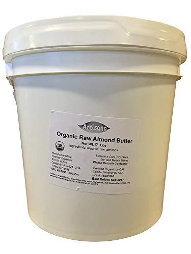 Artisana Organics Raw Almond Butter - No Sugar Added, No Palm Oil - Vegan, Paleo, and Keto Friendly, 9oz Jar