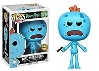 Rick y Morty Mr. Meeseeks Chase Variant Pop! Figura de vinilo de animación