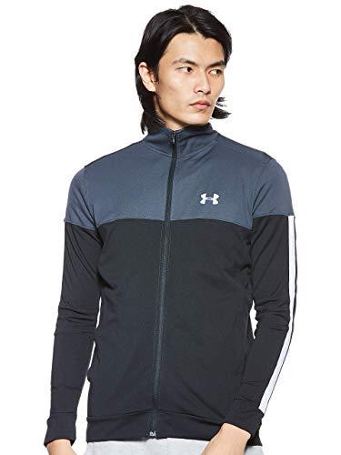 Under Armour, Sportstyle Pique Track Jacket, Felpa, Uomo, Grigio (Stealth Gray/White 008), L