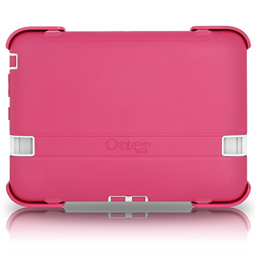 OtterBox Defender Series Case & Stand for Amazon Kindle Fire HD 7' 2012 (Previous Generation - 1st Gen - Will not fit Later Generations) - Papaya Pink/White …