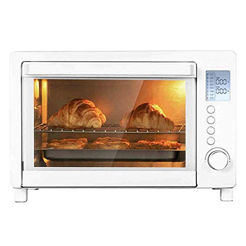 Home & Kitchen Oven Convection Electric Oven–Rotisserie,Roasts,Broils,Bakes and Toasts–Adjustable Temperature Control and Timer,for Baking Cooking,Multiple Cooking Functions,White