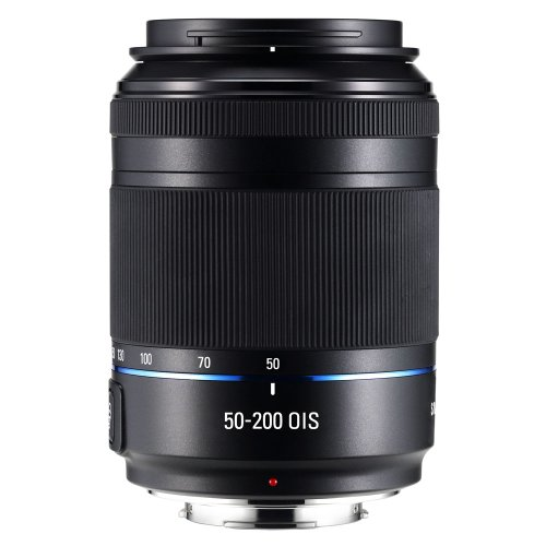 Samsung NX 50-200mm f/4.0-5.6 OIS Zoom Camera Lens - Black (EX-T50200CSB)
