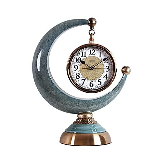 Aiglen Reloj Retro Permanente Vintage Nordic Silent Reloj De La Casa