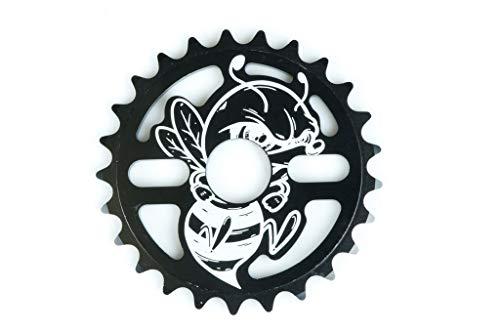 Total BMX Killabee Pignon Noir/Blanc 28T Noir/Blanc