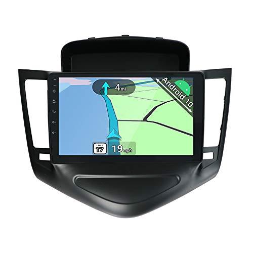 YUNTX Autoradio Android 10 compatibile con Chevrolet Cruze (2009-2014) - GPS 2 Din - Telecamera posteriore GRATUITA - 9 pollici - Supporto DAB / controllo del volante/WiFi/Bluetooth/Mirrorlink/Carplay