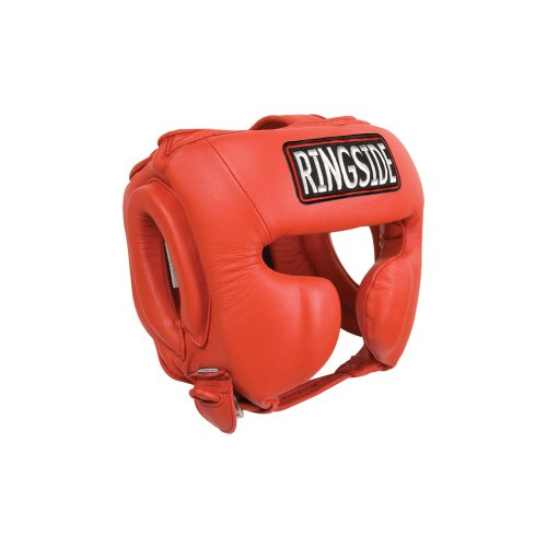 Ringside Fightgear Master's Competition Headgear (Red, Large)