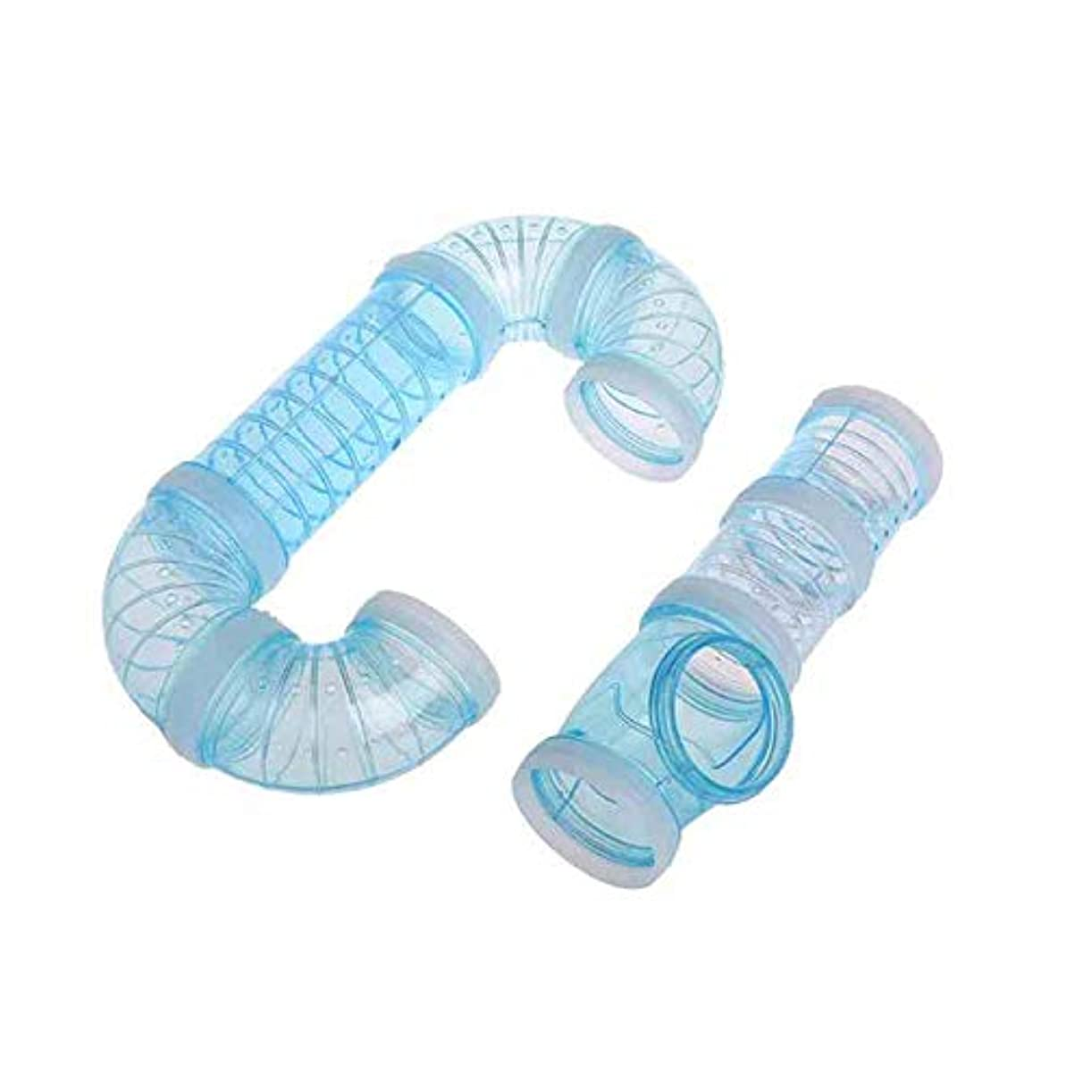 Tube Hamster - Exercise Cage Hamster External Diy Pipeline Tunnel Fittings - Craft Books Tubes Pipe Supplies Cockatiel Cage House Hamster Tube Tunnels Tunnel Accessories