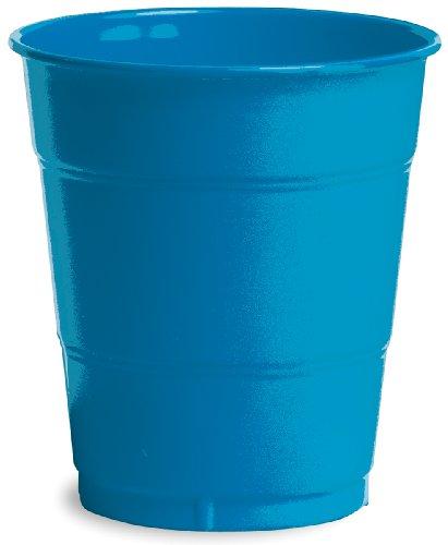 Creative Converting PC-1450 Bicchieri di plastica 12oz 20/Pkg-True Blue, Blu