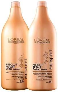Kit Absolut Repair Cortex Lipidium Loréal Professionnel Shampoo e Condicionador 1,5L