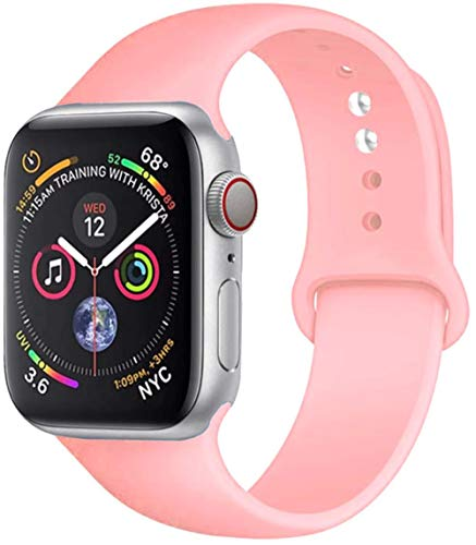 Banda de silicona suave para Apple Watch 5/4/3/2/1 Banda 42 38Mm Reemplazar Pulsera Correa de reloj 44Mm Para Iwatch 4 3 2 1 40Mm Band, China, Ml