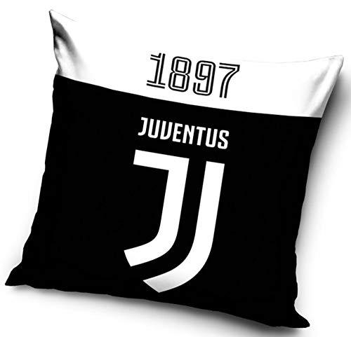 JUVENTUS Turin Kissen gefüllt- Filled Pillow - oreiller rempli - almohada llena - cuscino pieno JT181021-POD