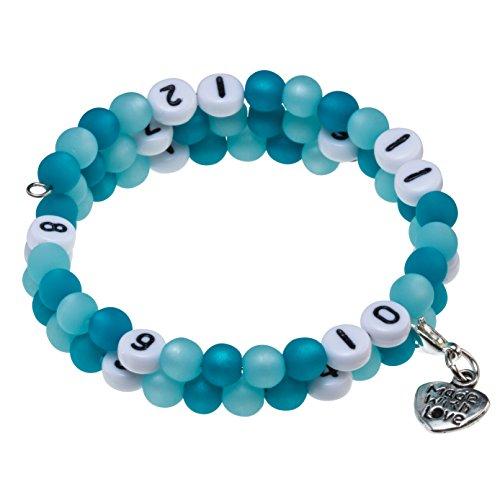Stillarmband Polaris - Praktisch für stillende Mütter sowie ein ideales Geschenk zur Geburt! (petrol)