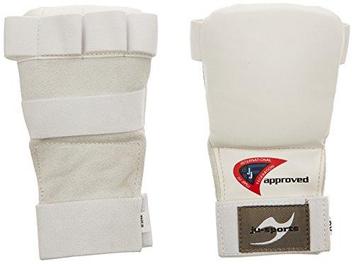 Ju-Sports Uni Ju-Jutsu Handschoner Pro, weiß, L, 6206103