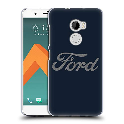 Head Case Designs Officially Licensed Ford Motor Company Detroit Ornament Logos Soft Gel Case Compatible with HTC One X10