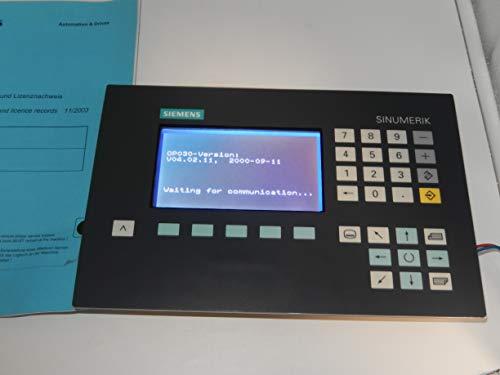 Siemens OP 030 Sinumerik 840D, Version: 04.02.11 Bedienpanel, offiziell unbenutzt, war Testerpanel