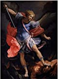 VGSD® The Archmichael Defeating Satan Poster,