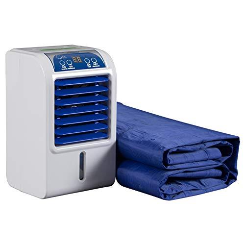 GY Draagbare luchtkoeler airconditioning ventilator met stille watergekoelde matras opvouwbare 8 W mini-airconditioning, voor thuis, kantoor
