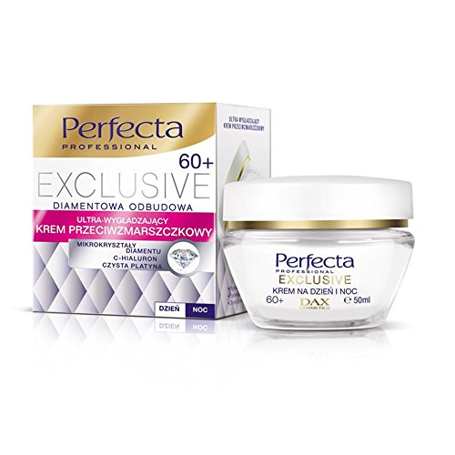 DAX Cosmetics- Perfecta Exclusive 60+ INTENSIVELY Anti-Wrinkle Day and Night Cream- 50ml