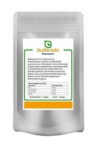 5 kg Maltodextrin | Malto Dextrin | Zucker | Kohlenhydrate | rein | Buxtrade | Maisstärke