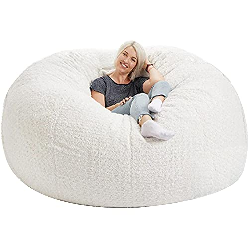 HNZNCY Durable cómodo puf silla de piel