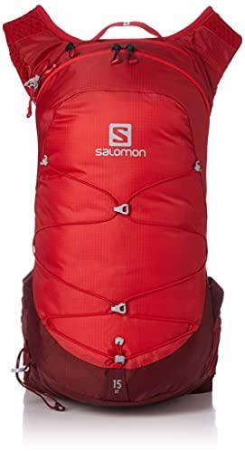 Salomon XT 15, Unisex-Rucksack für Erwachsene, Unisex, Rucksack, LC1518900, Goji Berry/Madder Brown (mehrfarbig), NS