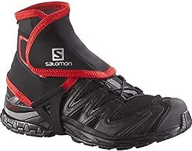 Salomon High Trail Gaiters, Black, Large, Size 9.5 - 12