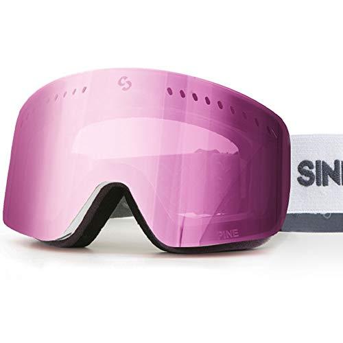 SINNER Skibril voor Heren en Vrouwen in Verschillende Kleuren - Bril voor Ski & Snowboard met UV Bescherming & Dubbele lens voor Anti-Fog - Goggle is Skihelm Compatible