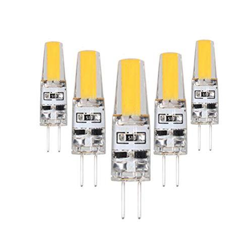 xiamenchangketongmaoyi Tageslicht GlüHbirne Stiftsockellampe Badezimmer Glühbirne LED G4 Glühbirnen Nachtglühbirnen Glühbirnen für Haus Badezimmer Glühbirnen cool White,2w-dc12v