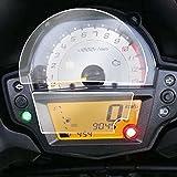 MNWYMCMFAccesorios del Protector de la Pantalla de la película de la protección del rasguño del racimo de la Motocicleta,para V = E = R = S = Y = S650 KLE 650 KLE650 2016-2018