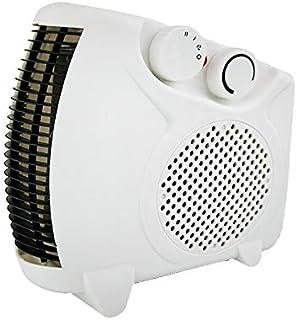 LTLJX Termoventiladores, Eléctrico Portátil Mini Ventilador de Calefactor Personal con Protección de Sobrecalentamiento Viento Caliente o Natural