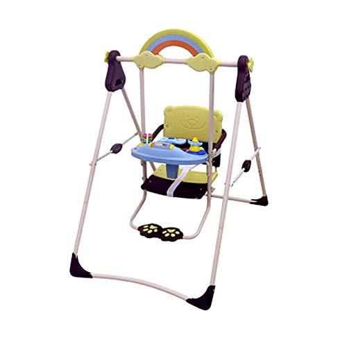 Columpio de bebé, plegable, silla para colgar, gran carga, balancín, apto para...