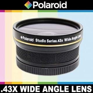 Polaroid Studioシリーズ .43倍高精細広角レンズ マクロアタッチメント付き Pentax K-01、K-X、K-7、K-5、K-R、645D、K20D、K200D、K2000、K2000、K100D Super、K110D、is...