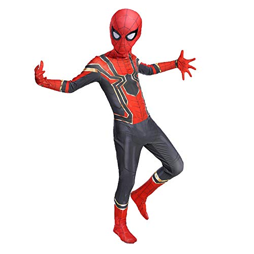 YongEnShang Halloween Superhero Bodysuit Cosplay Costumes for Kids(GTZZX,130)