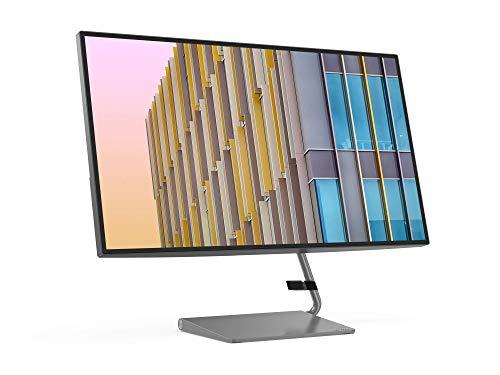 Lenovo Q27h-10 68,58 cm (27 Zoll, 2560×1440, WQHD, 75Hz, WideView, entspiegelt) Monitor (HDMI, DisplayPort, 4ms Reaktionszeit, AMD Radeon FreeSync) grau - 8