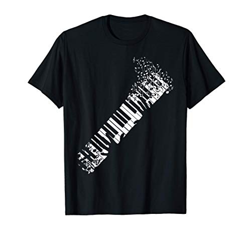 Keyboard Piano design for Men Women Kids T-Shirt