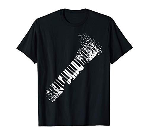 Keyboard Piano design for Men Women Kids T-Shirt