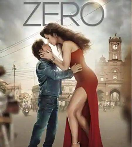 ZERO Film ~ DVD ~ Bollywood ~ SHAH RUKH KHAN, Anushka Sharma, Kathrina Kaif & Salman Khan ~ Hindi mit englischem Untertitel ~ India ~ 2019 ~ verkauf nur über Bollywood 24/7