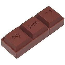 Uflatek USB Flash Laufwerk 32 GB Braun Flash Drive Schokolade USB-Stick 3.0 Neuheit Speicherstick Externe Datenspeicher für Geschenke
