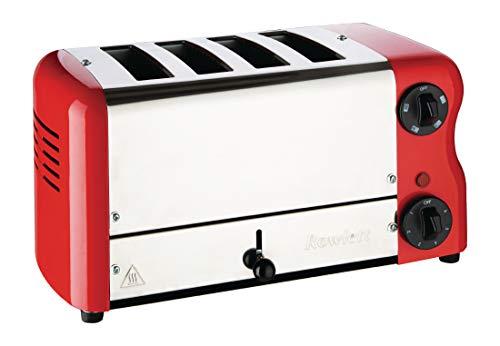 Rowlett Esprit 4-Schlitz Toaster rot