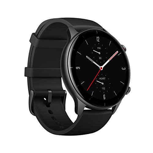 Amazfit GTR 2e SmartWatch, 2.5D Curved Bezel-Less Design,...