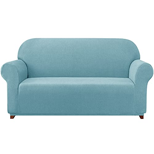 subrtex Sofa Cover 1-Piece Stretch Couch Slipcover Soft Couch Cover Washable Furniture Covers,...