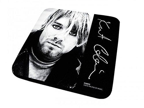 1art1 Kurt Cobain - Signature Untersetzer 9 x 9 cm