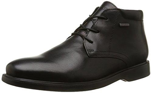 Geox U Brayden 2FIT ABX D, Stivali Desert Boots Uomo, Nero (Black C9999), 41 EU