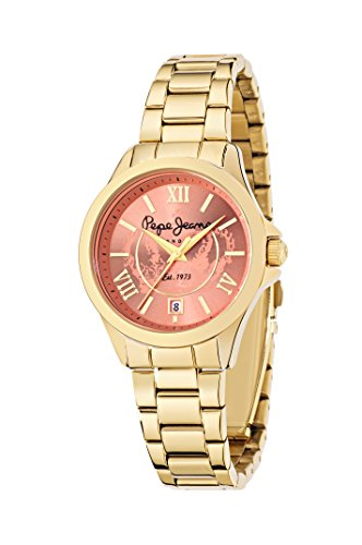 Pepe Jeans Orologio con Movimento al Quarzo Giapponese Woman KATY 40 mm