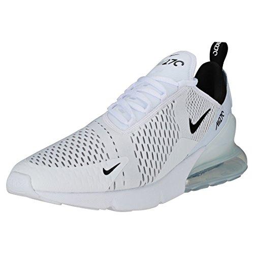 Nike Air MAX 270, Zapatillas de Gimnasia para Hombre, Blanco (White/Black/White 100), 45 EU
