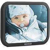 Kewago Autospiegel Baby - Rücksitzspiegel für Babys. Bruchsicher mit großem