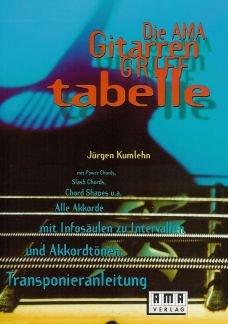 AMA-Verlag AMA GRIFFTABELLE - arrangiert für Gitarre [Noten/Sheetmusic] Komponist: KUMLEHN JUERGEN